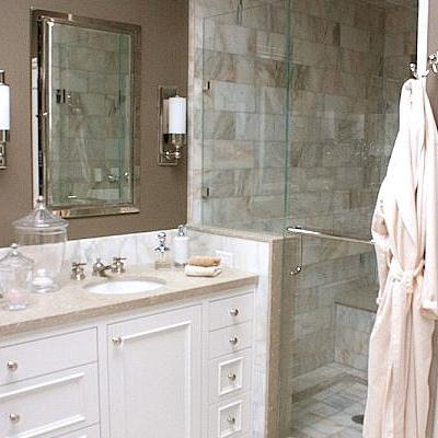 light colored granite for bathroom salle de bains avec la conception des armoires blanches 23681