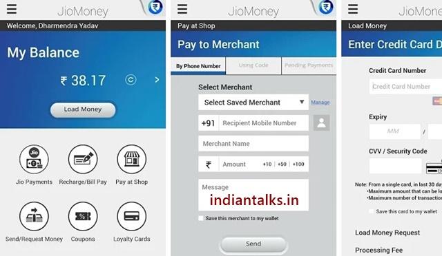 JioMoney-Wallet- App