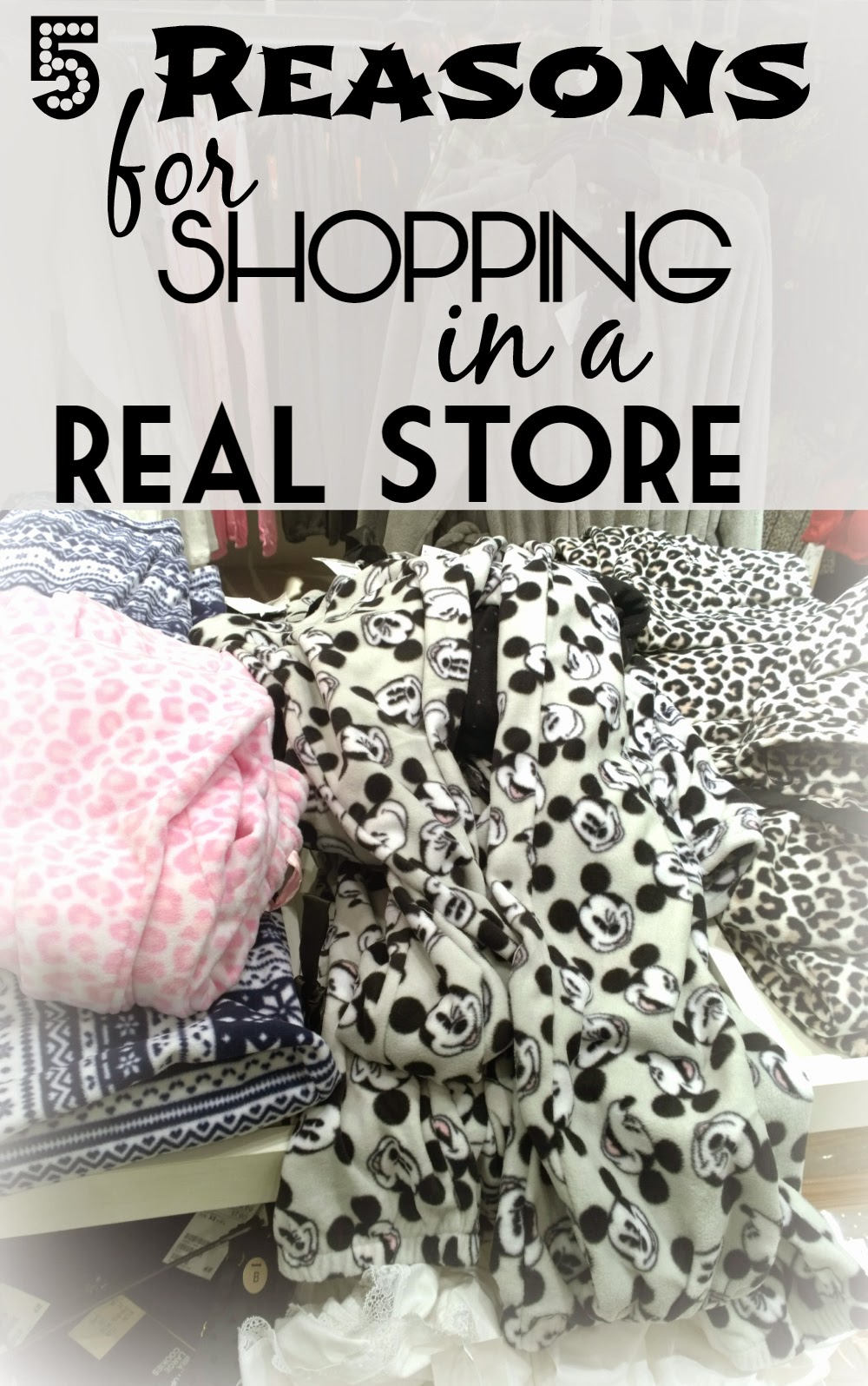 5 Reasons to shop brick & mortar, that is in a real, physical store | Funky Jungle, fashion and personal style blog