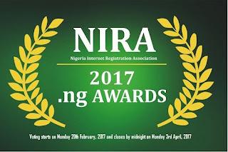 NIRA PROMOTES MOTHER NIGERIA AND DIGNITY OF LABOUR AT .NG 2017 AWARDS