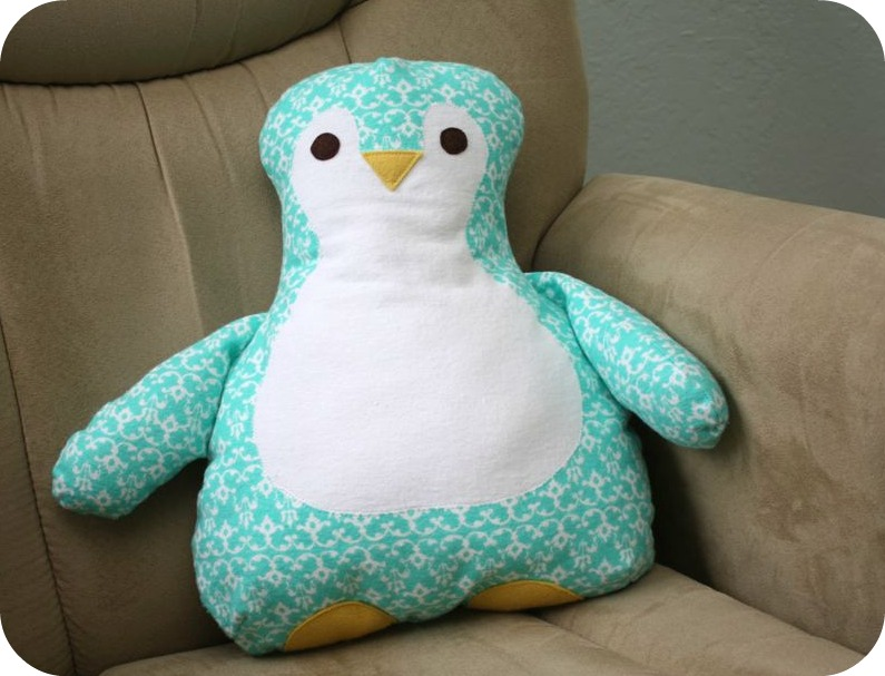 Gingercakes Penguin Pillow review