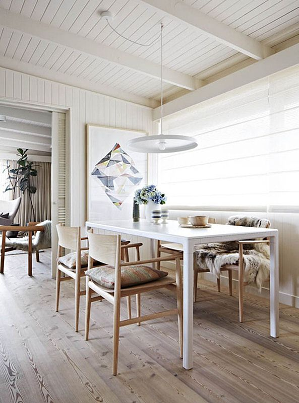 Interior Scandinavian Design Renovated Melbourne Cottage