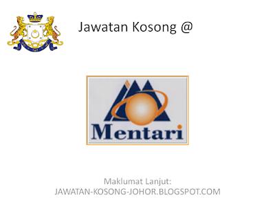 Jawatan Kosong Di Kolej Kemahiran Mentari Kluang Johor