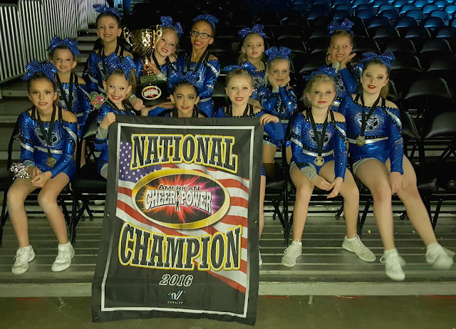 Cheer Power Southern Nationals Awards - Texas Rockstars - Mini 1