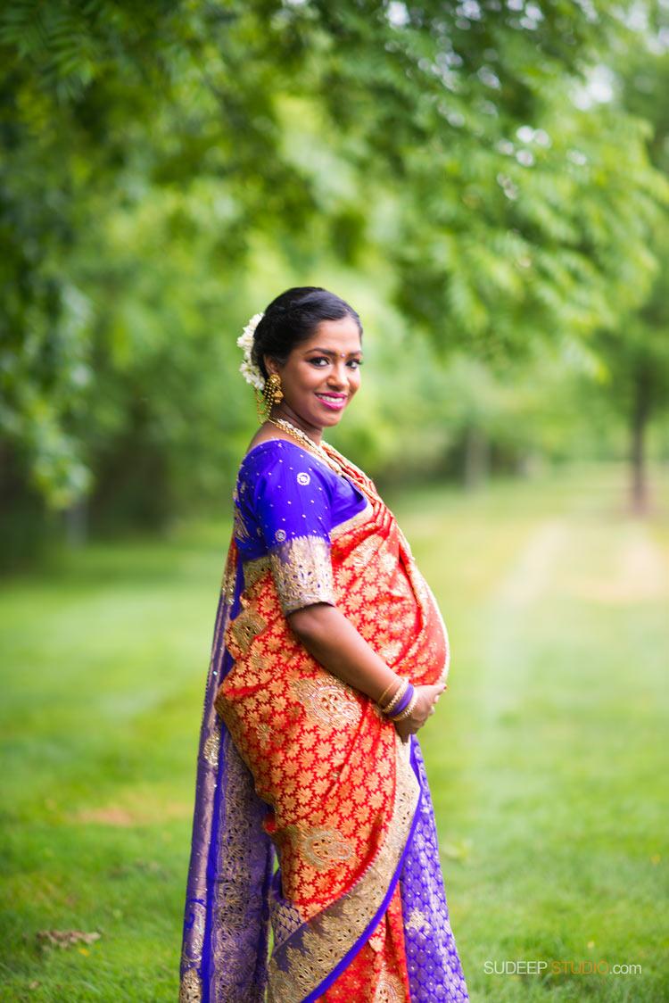 Indian Baby Shower and Maternity Portrait Photography - Ann Arbor Photographer SudeepStudio.com