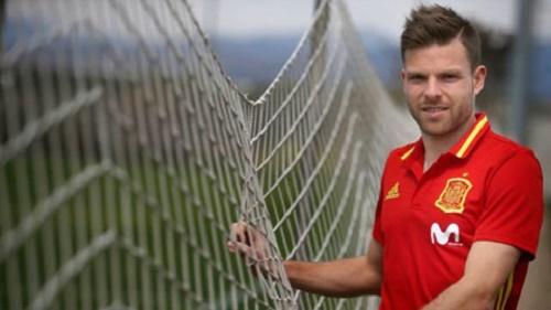 Illarra ăn mừng bàn thắng quyết định vào lưới Espanyol tuần trước