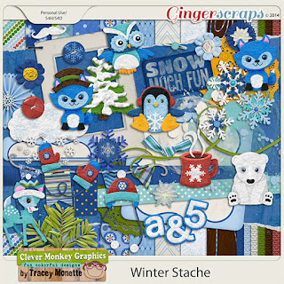 Winter Stache by Clever Monkey Graphics