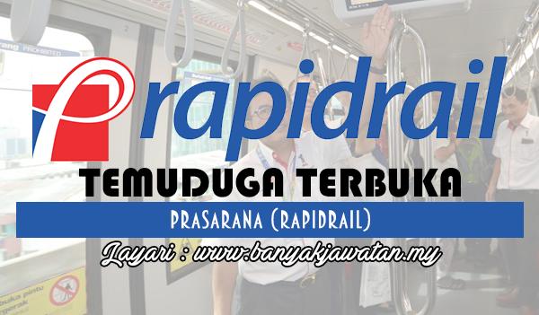 Temuduga Terbuka Terkini 2017 di Rapidrail www.banyakjawatan.my