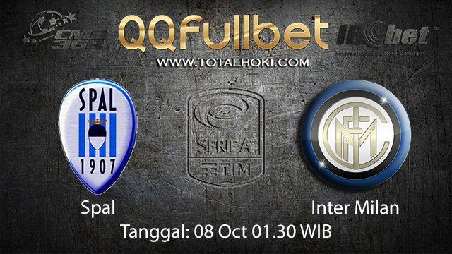 Prediksi Bola Jitu Spal vs Inter Milan 08 October 2018 ( Italian Serie A )
