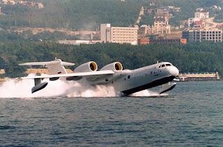Pesawat Amfibi Beriev Be-200 Rusia