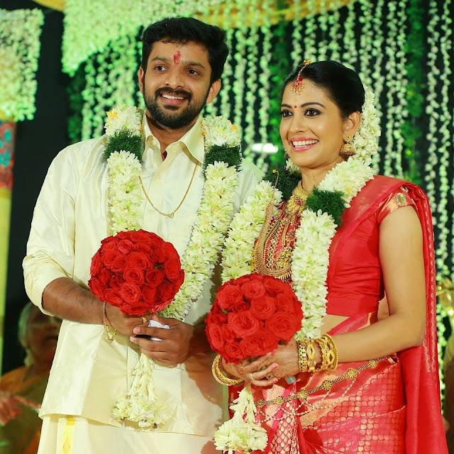 Actress Sshivada Nair married actor Murali Krishnan