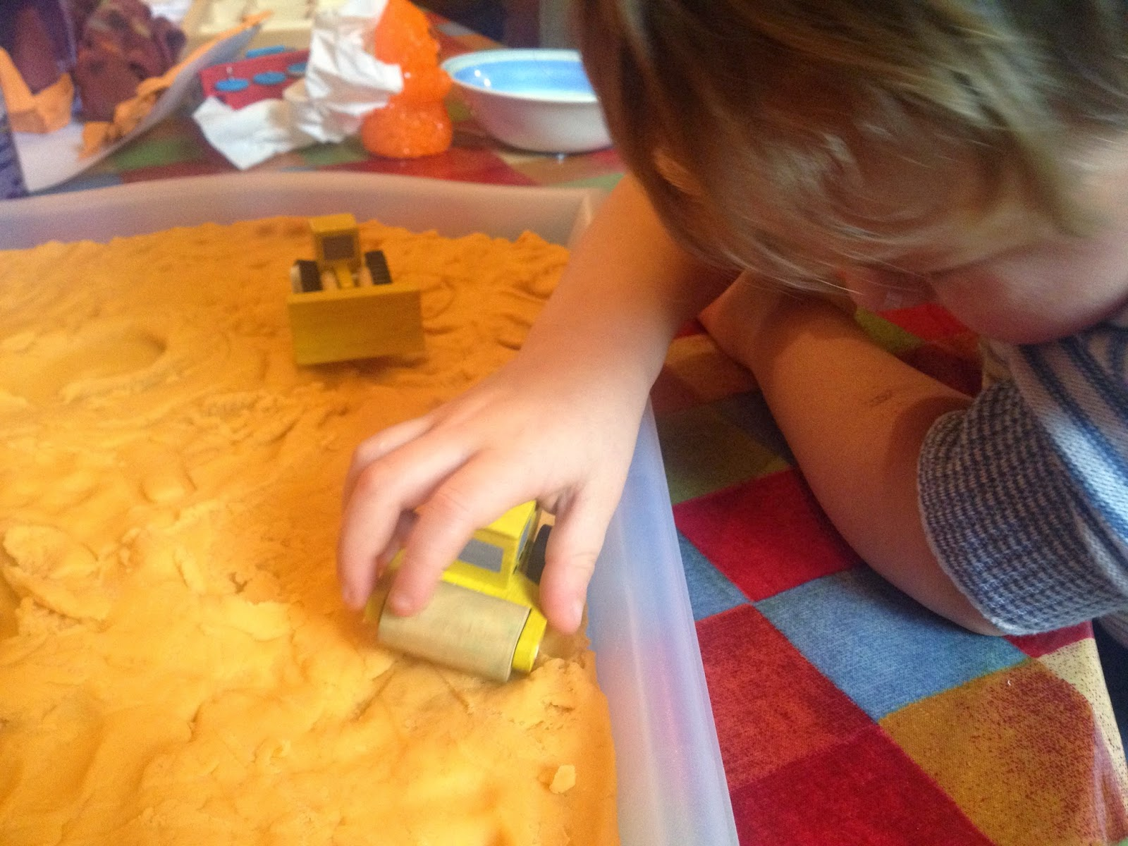 playdough building site