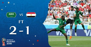 Arab Saudi vs Mesir 2-1 Video Gol Highlights