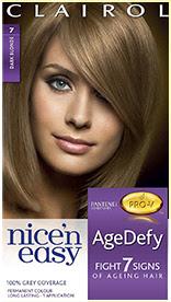 Nice'n Easy Age Defy Permanent Hair Dye Dark Blonde 7