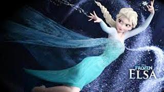 Gambar foto keren Elsa Frozen