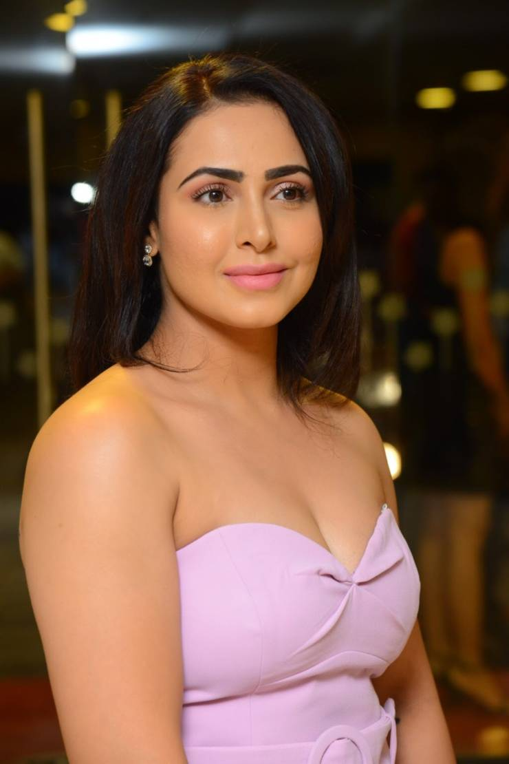 Indian Model Nandini Rai At Salon Hair Crush Launch Party