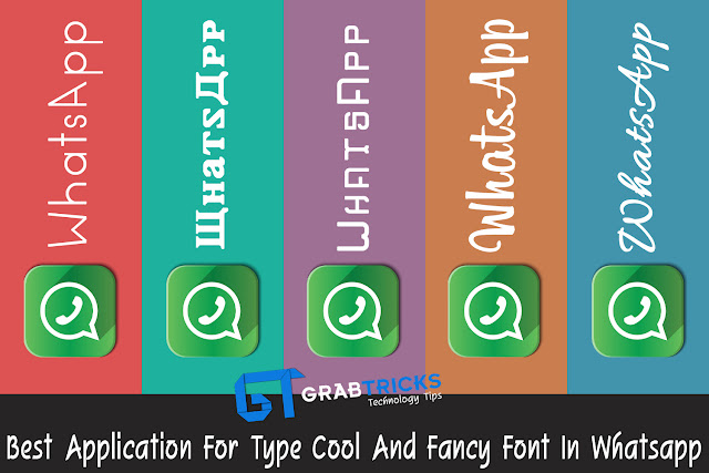 5 Best Application For Type Cool and Fancy Font In Whatsapp