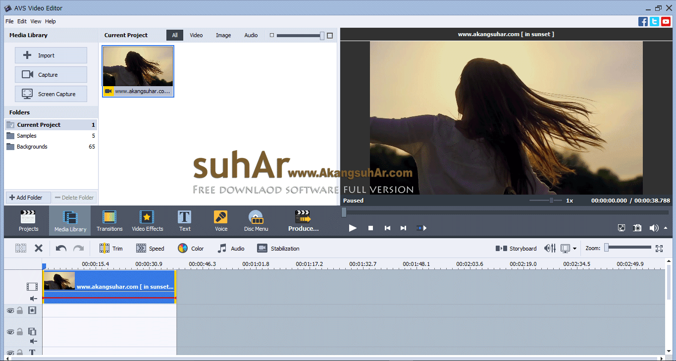 Free Download AVS Video Editor Full Activation Patch