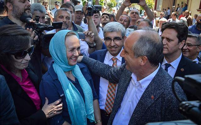 «Απάντηση» στον Ερντογάν η περιοδεία Ιντζέ στη Θράκη
