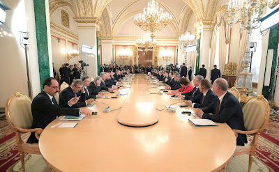 Sixth meeting of the High-Level Russian-Turkish Cooperation Council.