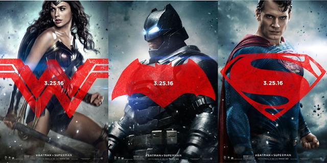 De izquierda a derecha: Wonder Woman, Batman y Superman, miembros de la futura Liga de la justicia
