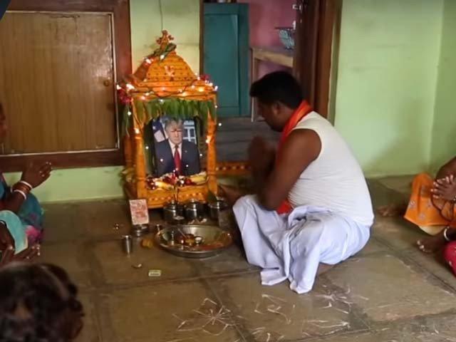 Donald Trump , Srinivas Kuchibhotla