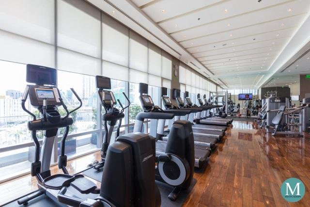 Gym Fitness Center of Ascott Bonifacio Global City Manila