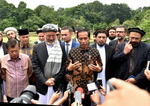 Jokowi Fasilitasi Majelis Perdamaian Afganistan Bertemu NU dan Muhammadiyah