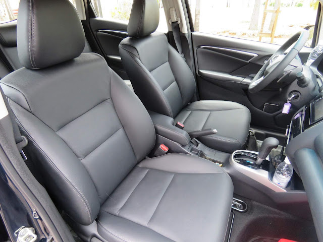 Honda Fit 2018 EXL - interior