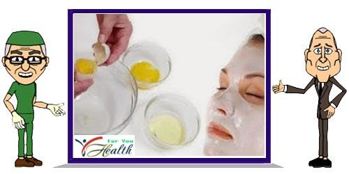 How To Make Egg White Mask for Face