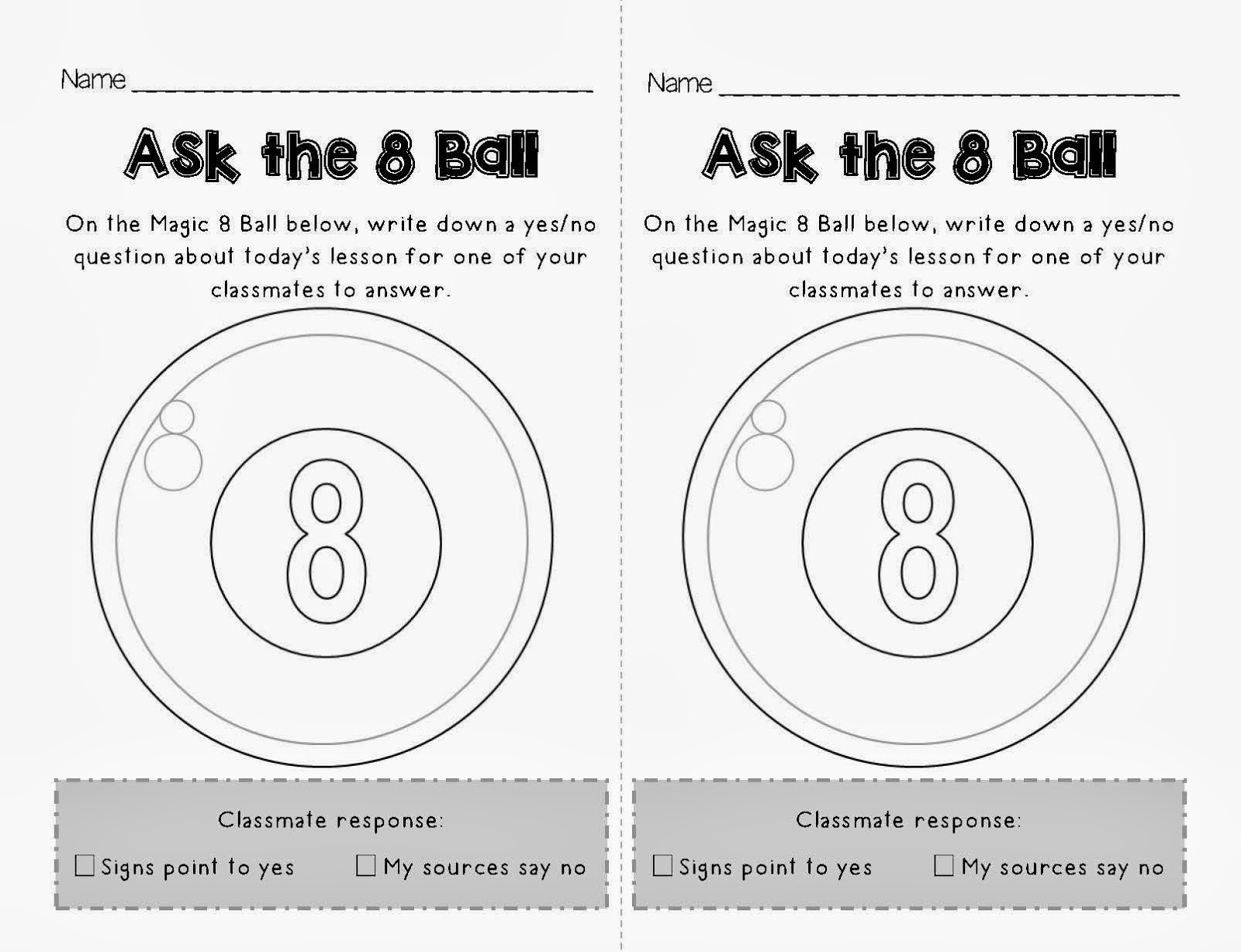 Science Teaching Junkie, Inc.: New Admit and Exit Tickets