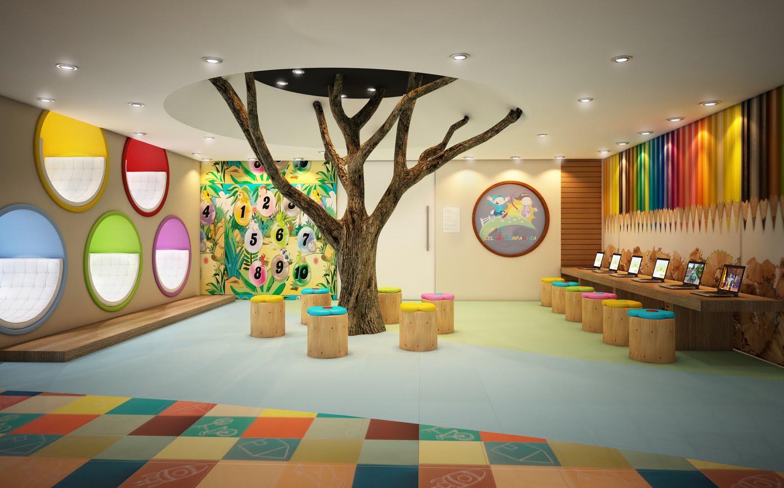 Modern Classroom Requirements ~ Arquited brinquedotecas para a criançada