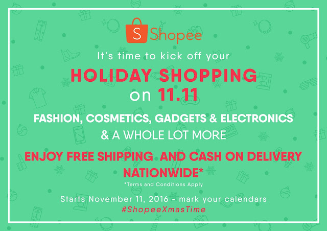 Shopee Holiday Shopping on 11.11