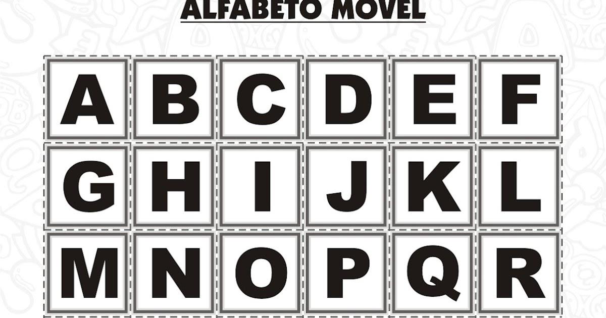 Alfabeto Movel Peca Dos Jogos