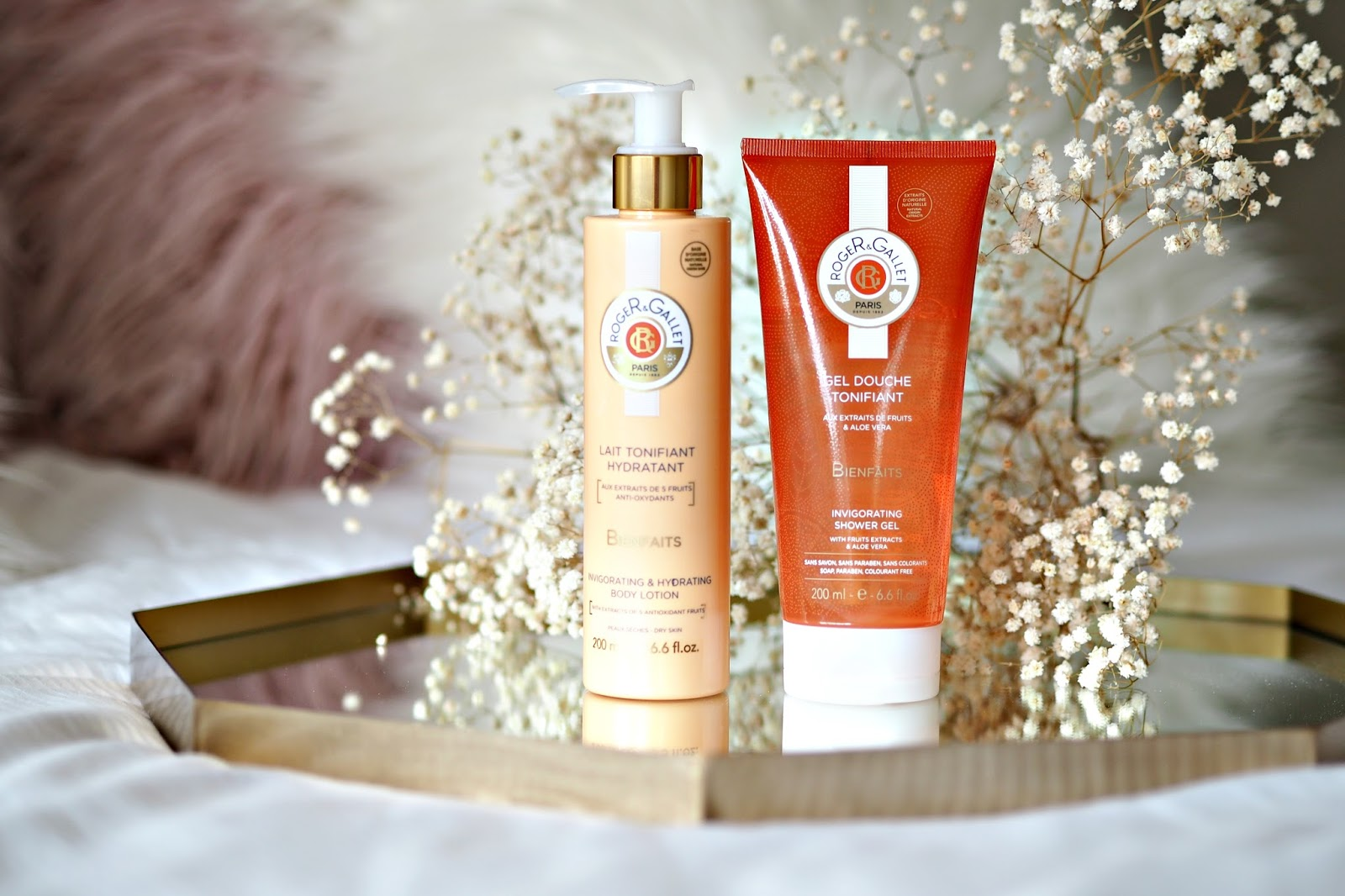 Roger & Gallet Bienfaits Shower Gel & Body Lotion