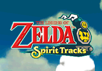 Captura de pantalla de título de The Legend of Zelda: The Legend of Zelda: Spirit Tracks (Nintendo DS, 2009)