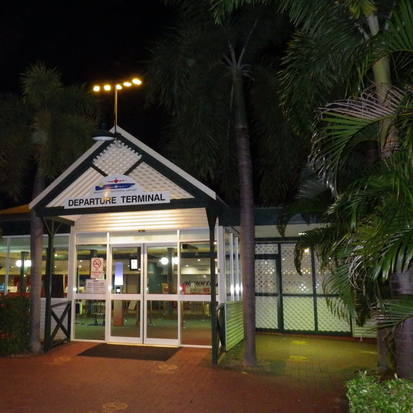 Broome Flugangst Departure Terminal Airport