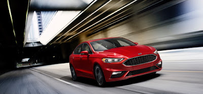 2017 Ford Fusion Earns A Top Safety Pick+ Award