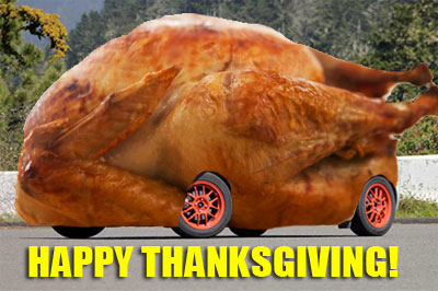 Toyota Yaris Thanksgiving Turkey
