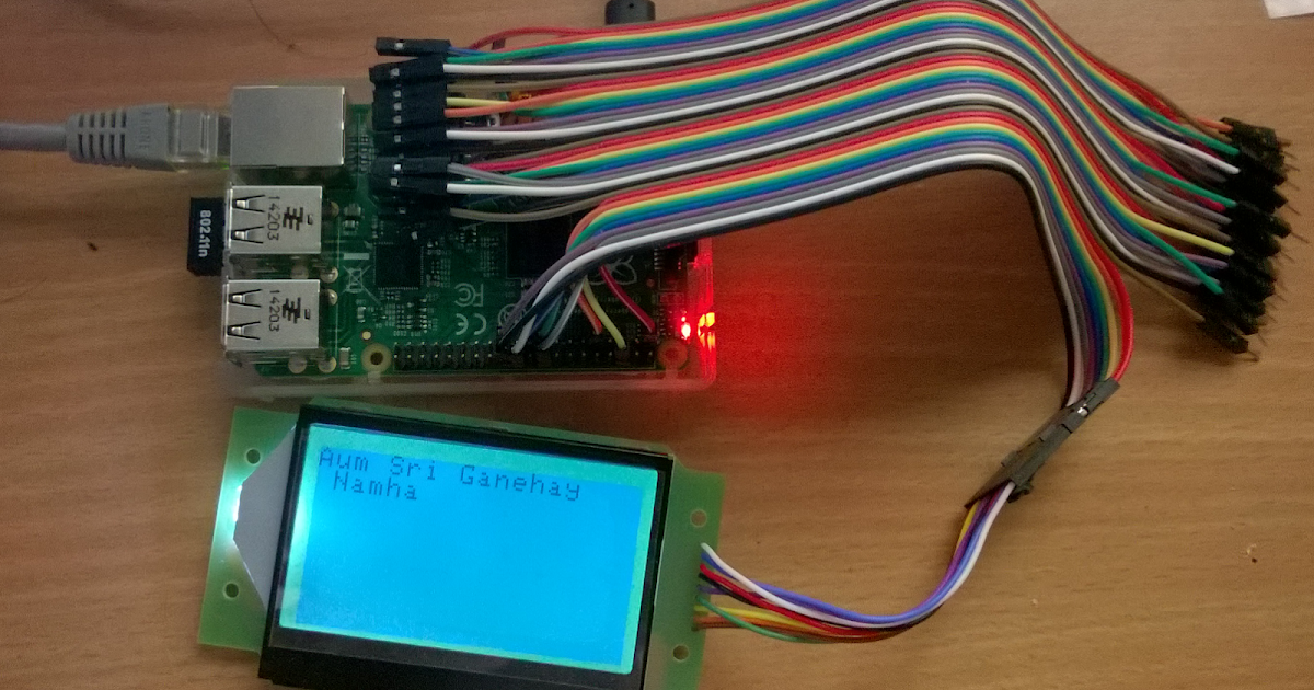 Cool Electronics For Bharat Raspberry Pi Gpio Spi To Use St7565 Lcd As Wiring Cloud Oideiuggs Outletorg