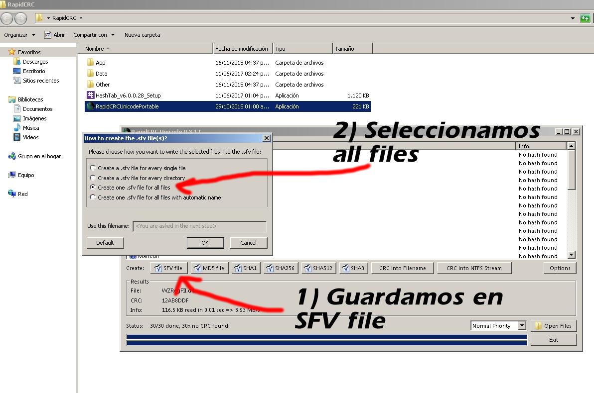 Checksum de MHP Antihack con Rapid CRC Unicode Portable - Mu