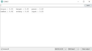 Arduino, Tutorial Fuzzy Logic Controller dengan Arduino (Fuzzifikasi)