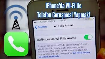 Iphone woWiFi Özelliğini Kullanmak