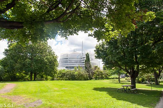 Casino de Montreal. Un paseo por el parque Jean Drapeau.