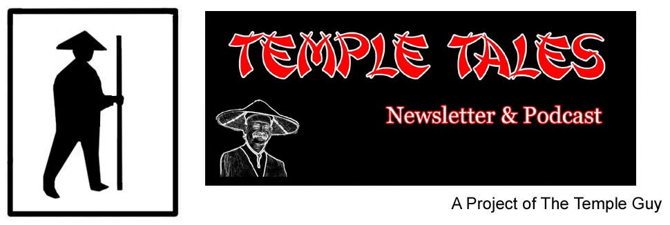 Temple Tales Newsletter and Podcast