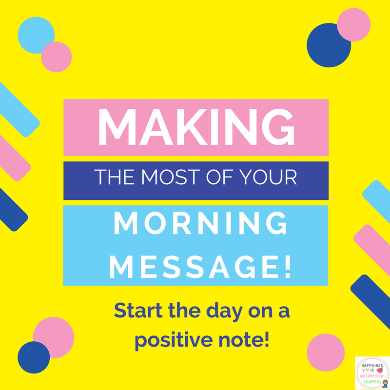 How to write meaningful and educational morning messages parts of a typical morning meeting m4hsunfo