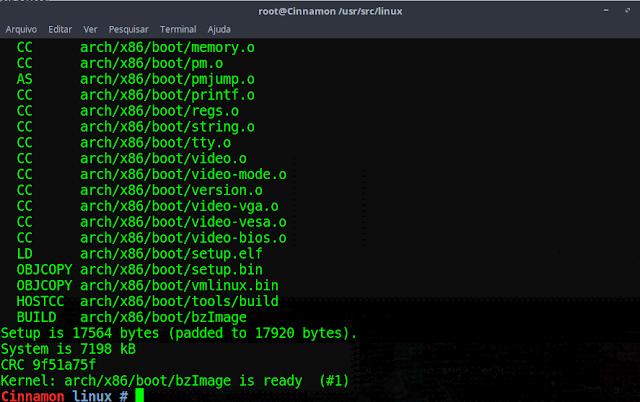 Compilação do Kernel Linux