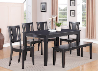 Black Dining Table Decor