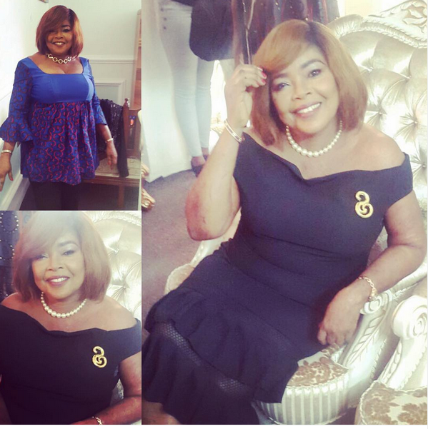 Annie Idibia mother