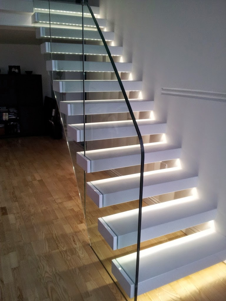 Glass Staircase Panels Railings And Designs